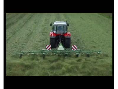 科罗尼(krone)kw系列旋转式牧草摊晒机