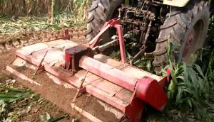 邯鄲邯武220雙軸秸稈還田旋耕一體機作業視頻