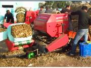 乐陵市天盛机械设备有限公司青贮打捆机作业视频