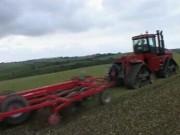 格兰CTS系列保护性耕作大型联合整地机作业视频