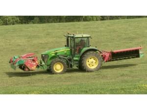 格兰全系列割草机和割草压扁机作业视频2