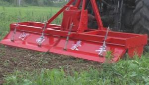 豪丰1GQN-250H旋耕机作业视频
