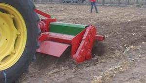 豪丰1GQNM-200型根茬粉碎旋耕机作业视频
