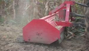豪豐4J-180B型秸稈粉碎還田機作業視頻