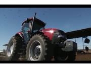 凯斯拖拉机作业视频