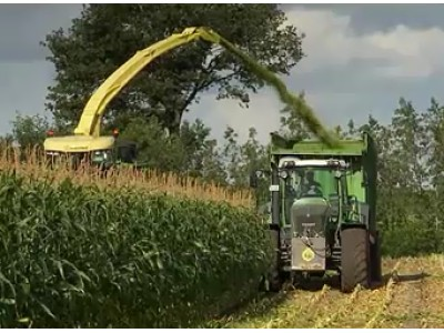 科罗尼Krone公司BIG系列青贮收割机作业视频