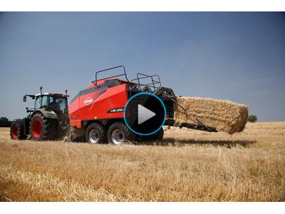 库恩LSB大方捆打捆机作业视频-天津库恩农业机械有限公司