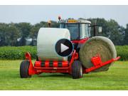 库恩RW和SW系列缠膜机作业视频-天津库恩农业机械有限公司