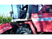 中农博远4YZ-3B玉米联合收割机作业视频