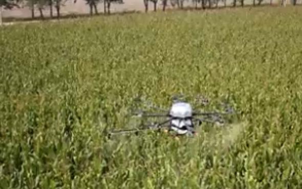 天途航空M8A植保無人機作業視頻