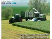 国外农场收割场景 CLAAS 猎豹收割机作业视频