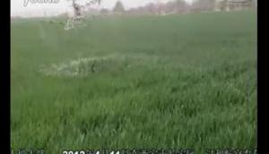 汉和航空无人机陕西作业视频