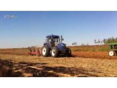雷沃M1354翻转犁犁地视频