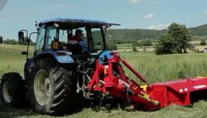 伊諾羅斯DMC6割草壓扁機作業視頻
