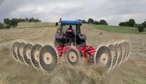 伊諾羅斯Batrake10摟草機作業視頻