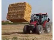 伊诺罗斯SIGMA4拖拉机前装载机作业视频
