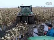 约翰迪尔6320拖拉机作业视频