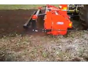 东方红X1004拖拉机作业视频