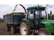 新疆牧神4QZ-2200自走式青(黃)貯飼料收獲機作業視頻